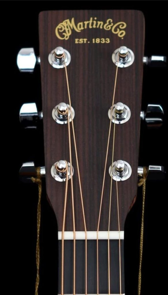 Martin DRS2 the strings